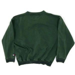 Vintage Tommy Hilfiger Jeans Flag Sleeve Mens 2XL Knit Sweater dAITP